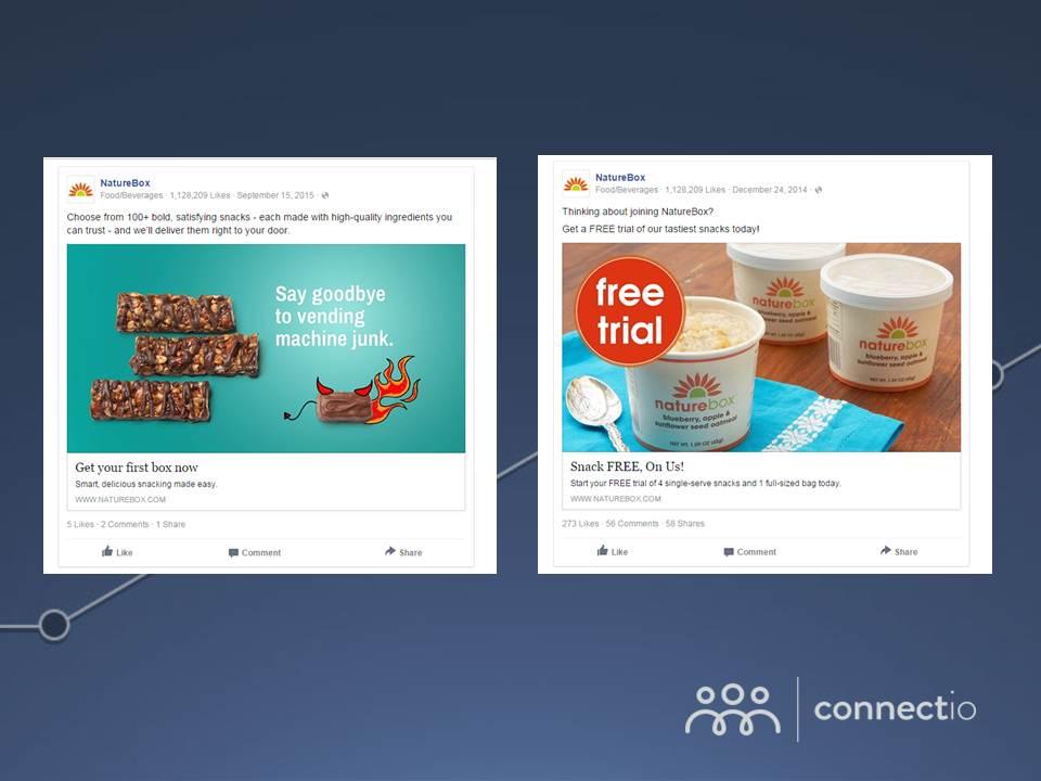 23 simple split tests to optimize your facebook ads connectio. Black Bedroom Furniture Sets. Home Design Ideas