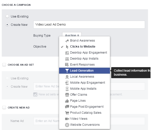 Here's how to (easily) collect leads INSIDE Facebook Video