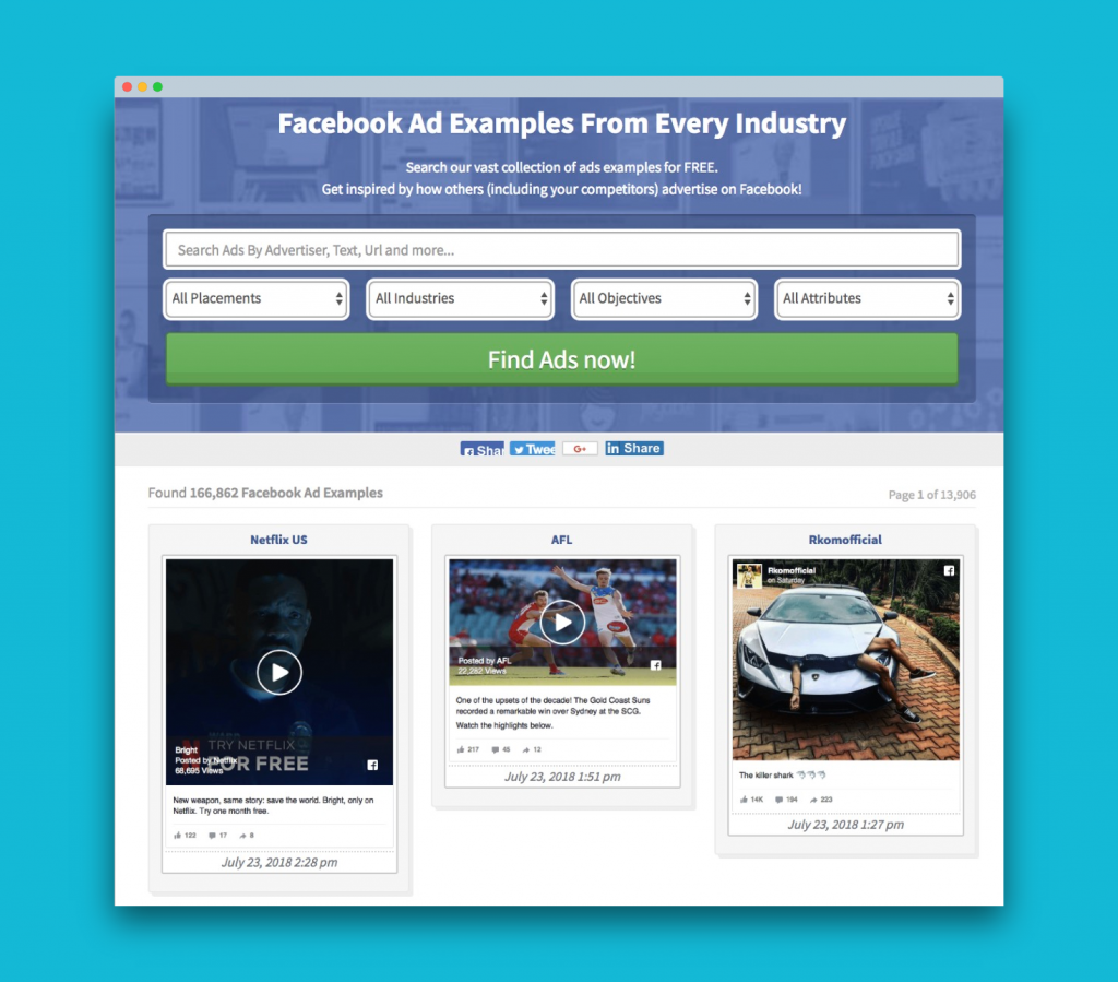 7 ways to Spy on your Competitor's Facebook Ads [2019 Update]