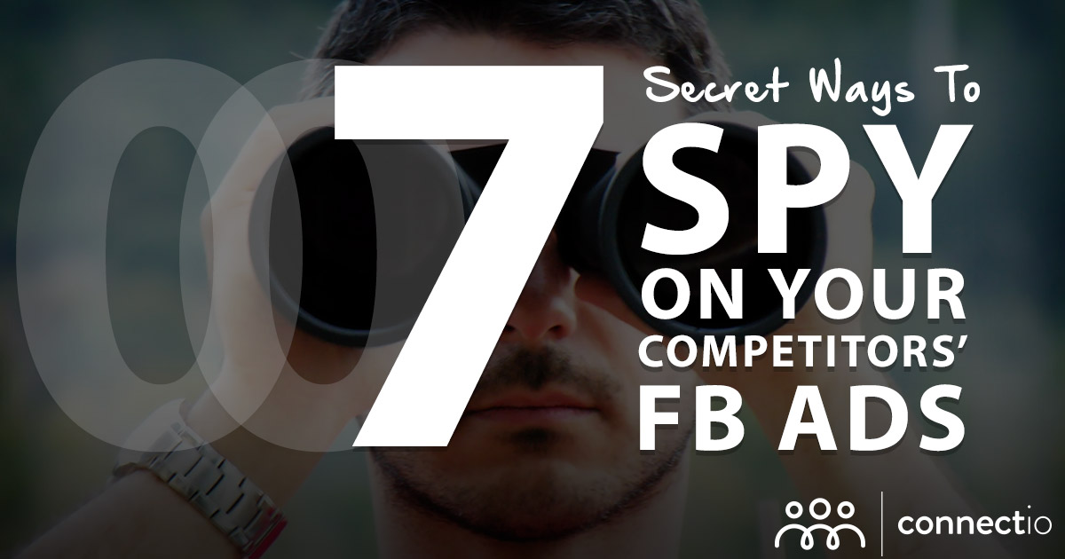 7 ways to Spy on your Competitor's Facebook Ads [2020 Update]