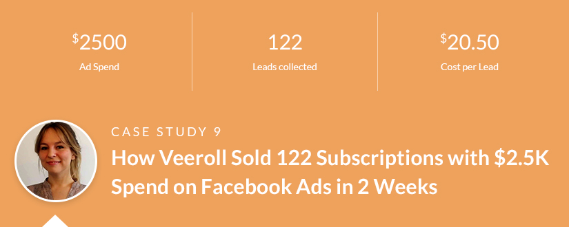 The Ultimate List of Facebook Ads Case Studies (+ 38 lessons you can