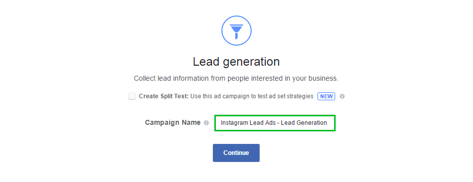 Image of Create Name for Ad Campaign