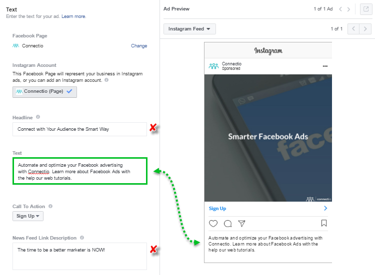 Image of Instagram Lead Ads - Text - Single Image Ad