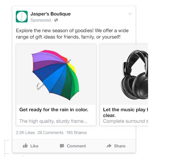 Multi Product Ad